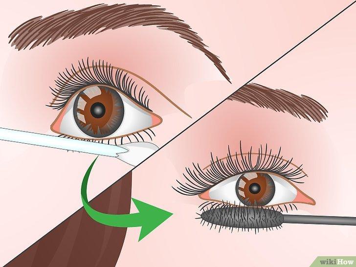 Изображение с названием Curl Your Eyelashes Without an Eyelash Curler Step 12