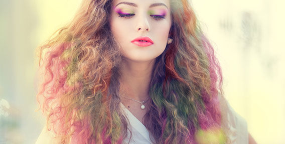 Цветные мелки для волос. Как покрасить волосы пастелью?