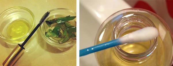 Способы нанесения масла на ресницы