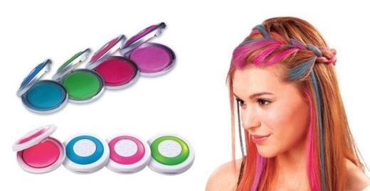 Мелки для волос — 85 фото, как покрасить и сделать цветные волосы