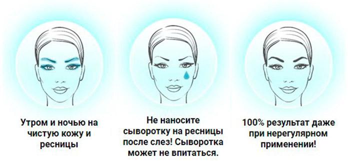 Сыворотка Hipno Lash способ применения