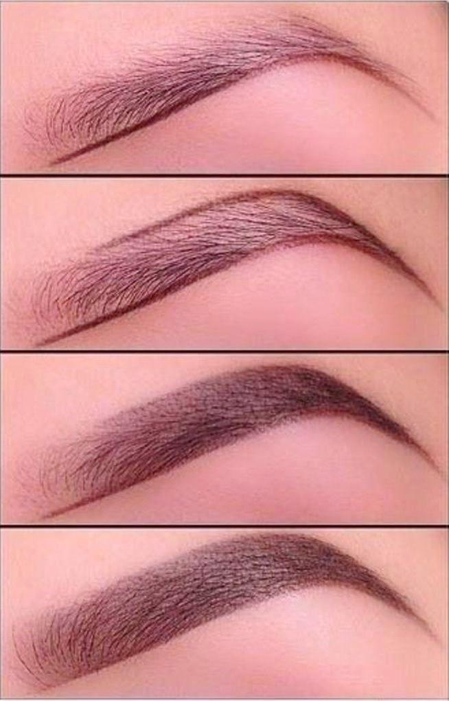 как правильно наносить краску на брови