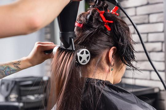 Совет 1: Разделяйте волосы на пряди