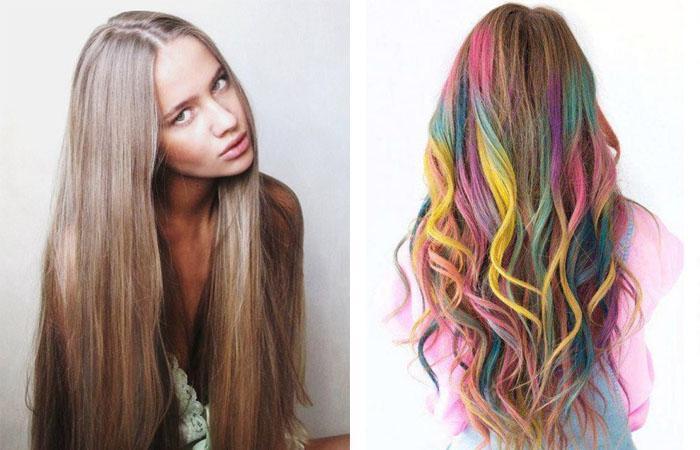 Как красить волосы мелками для волос — все секреты оригинального способа обновить прическу