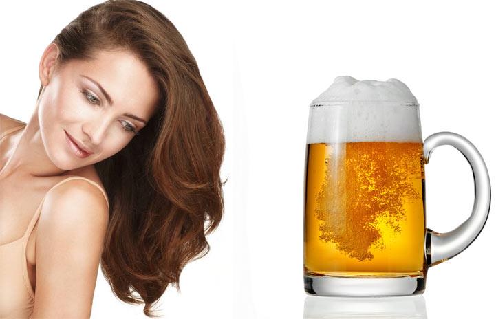 Маска  для волос с пивом рецепты для роста отзывы