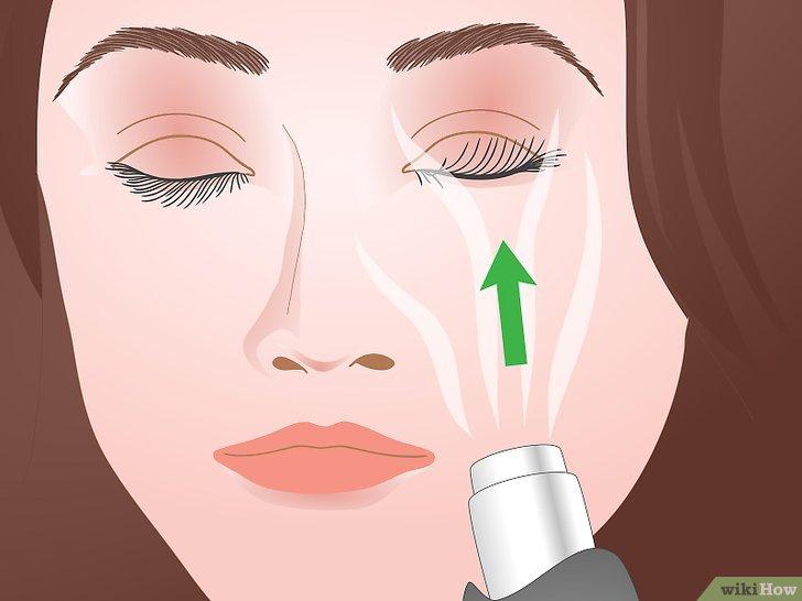 Изображение с названием Curl Your Eyelashes Without an Eyelash Curler Step 11