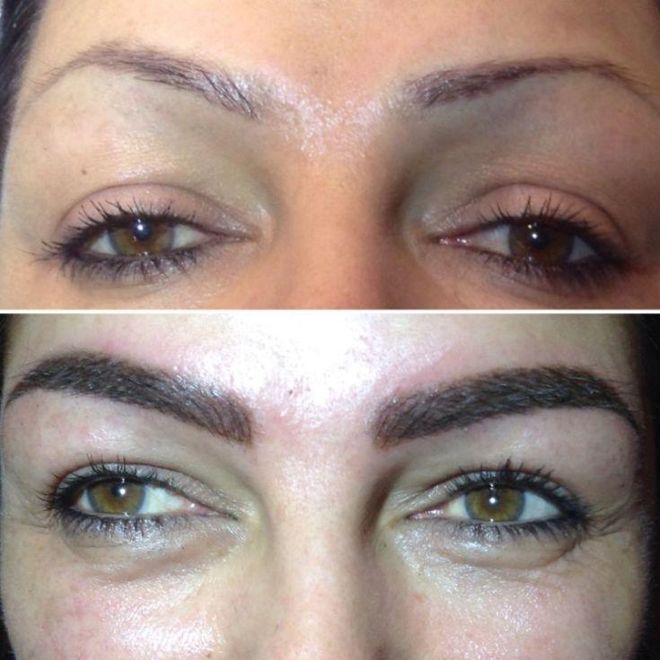 Перманентный макияж бровей — какой эффект на самом деле стоит ожидать? (50 фото + видео)