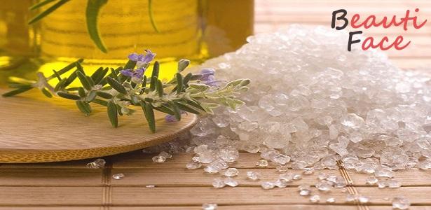 Применение соли для волос