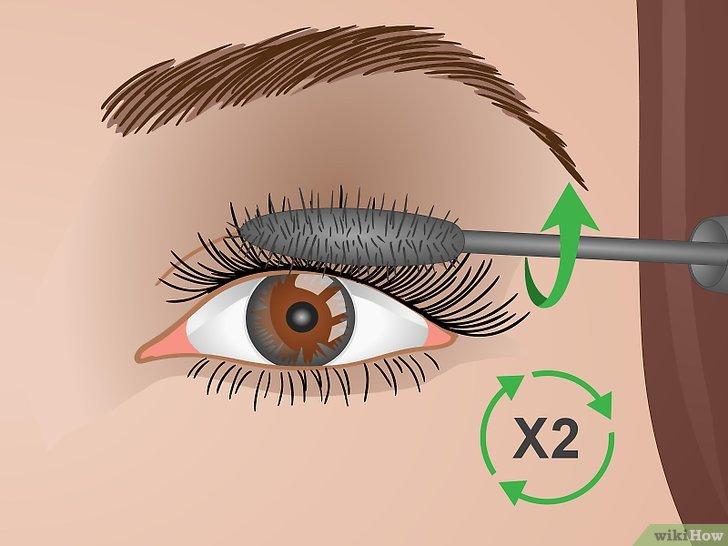 Изображение с названием Curl Your Eyelashes Without an Eyelash Curler Step 16