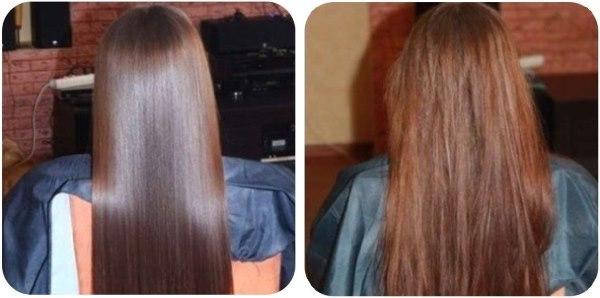 Ламинирование волос в домашних условиях без желатина пошагово