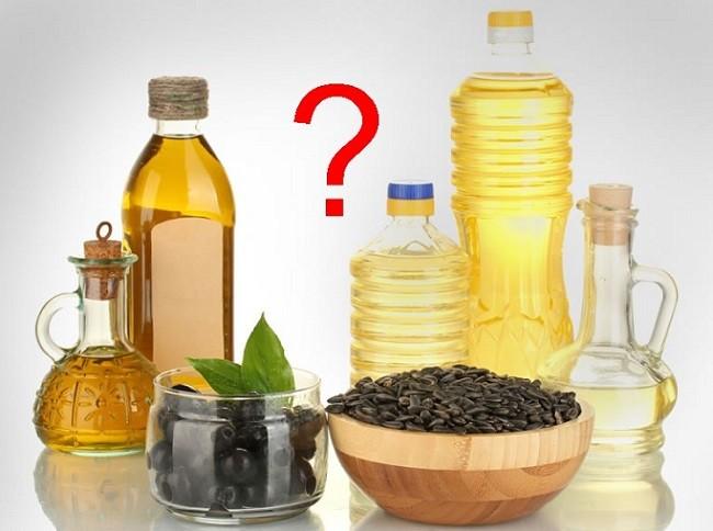 Оливковое или растительное масло