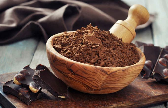 Шоколадная маска из какао порошка для волос рецепты