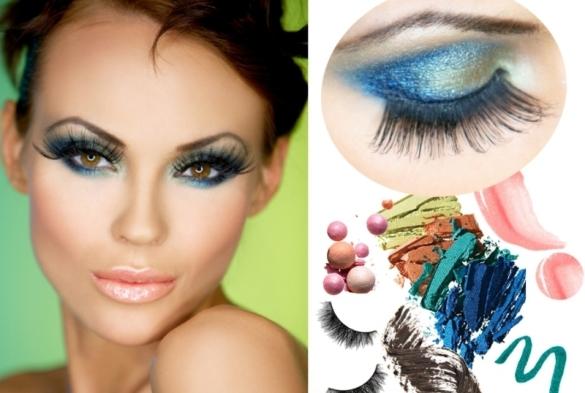 Фото-пример элегантного вечернего макияжа