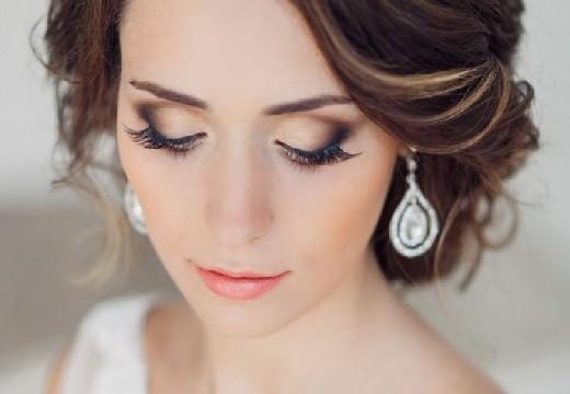 свадебный вариант макияжа