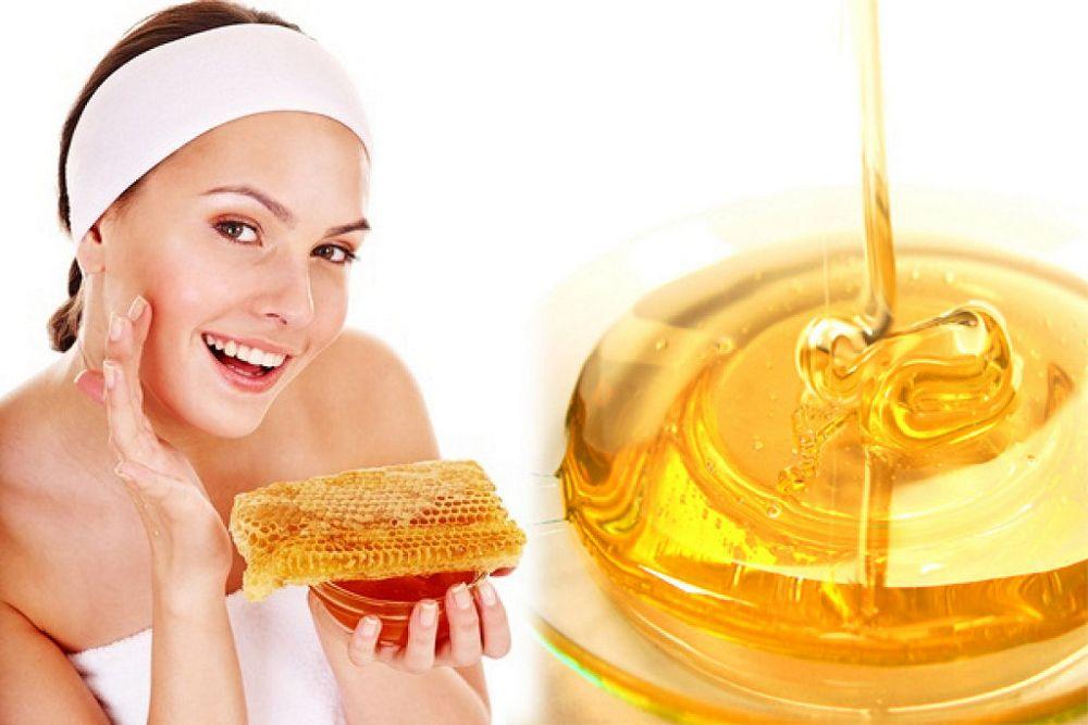 Польза мёда для лица