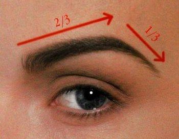 Как подчеркнуть и скорректировать форму бровей