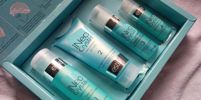 Набор для процедуры ламинирования волос Estel iNeo Crystal