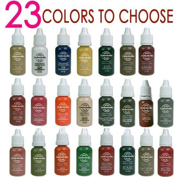 Татуаж бровей и цвет бровей (42 фото): оптимальные сочетания перманентного макияжа