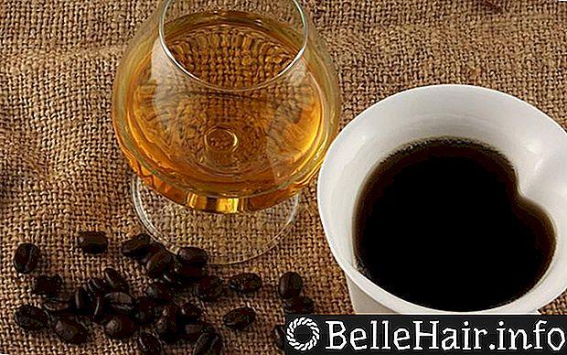 Секреты получения сияющих локонов — 2 вида масок с кофе для волос