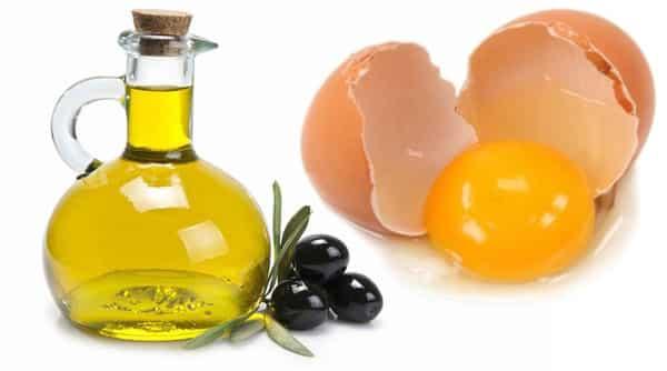 Оливковое масло с яйцом
