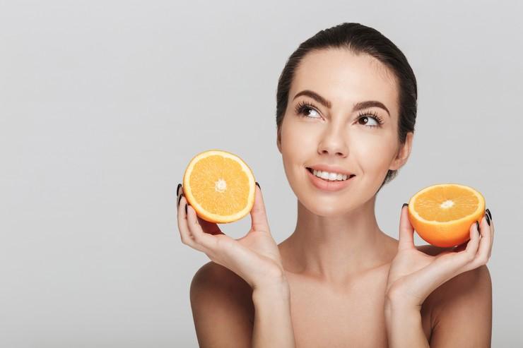 Эфирное апельсиновое масло для крепких волос
