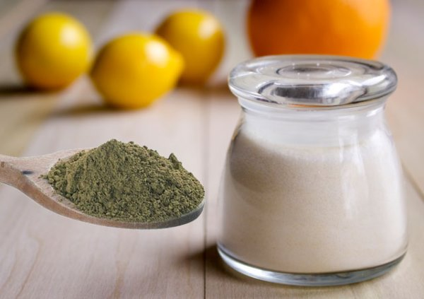 Лимонная кислота и хна