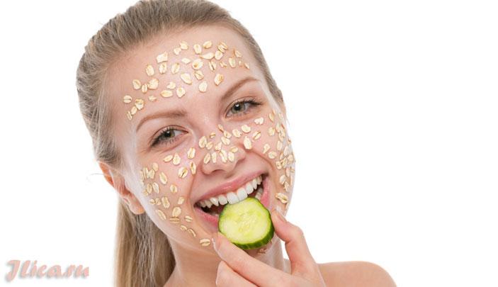 Рецепты домашних масок для лица с овсянкой