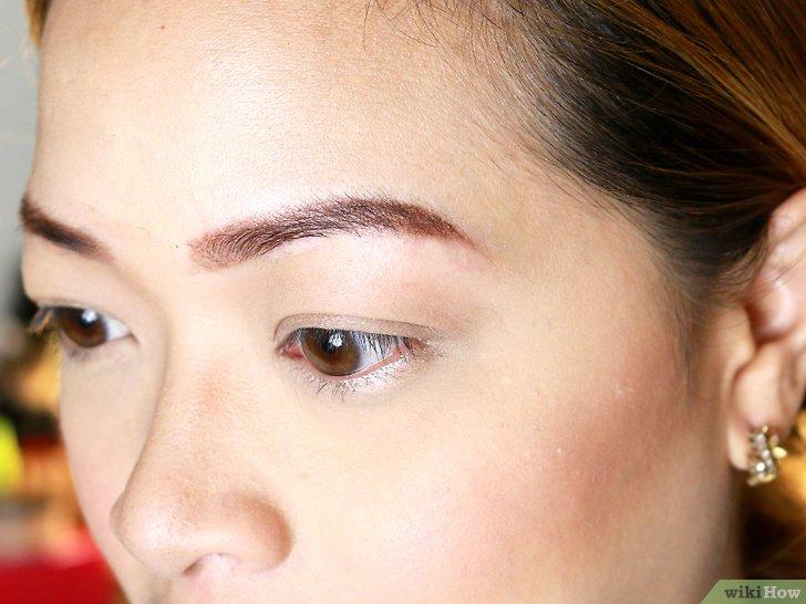 Изображение с названием Make Your Eyebrow Hairs Straight Instead of Curly Final