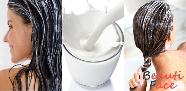 Как применять сметанные маски для волос