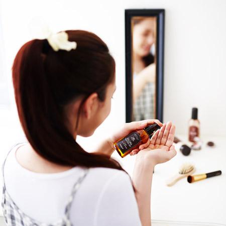 Применение арганового масла для волос