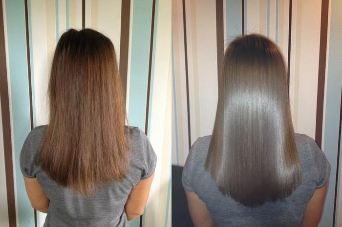 Ламинирование волос желатином в домашних условиях: недорогая процедура с салонным эффектом