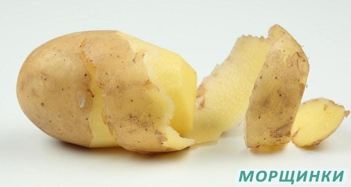 Картофельная маска для лица от морщин