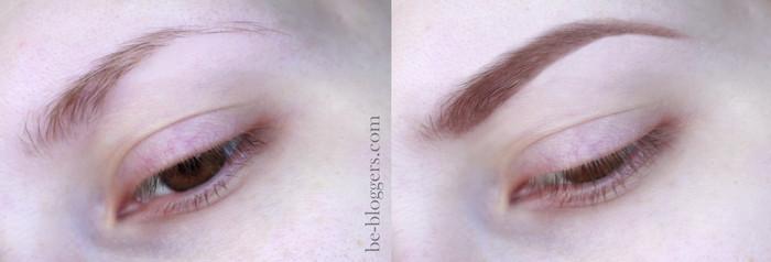 Eva Mosaic карандаш для бровей Ideal Brow «Карие очи», отзыв, свотчи
