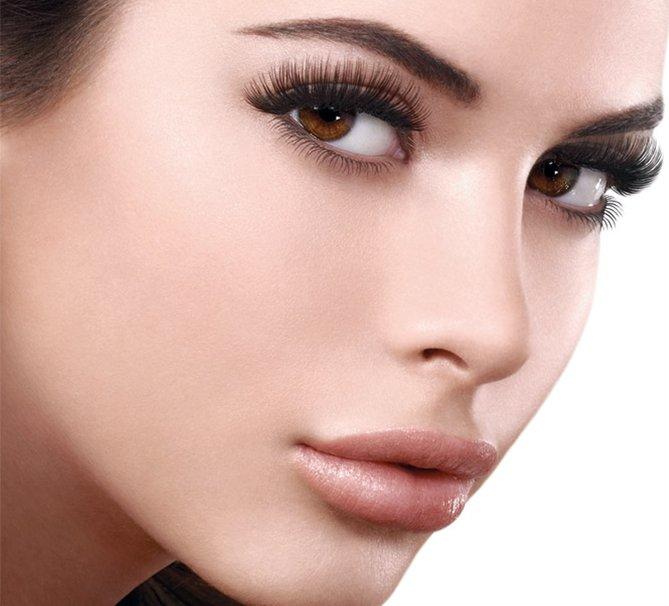 Норковые ресницы (36 фото): долговременная безупречность без макияжа глаз