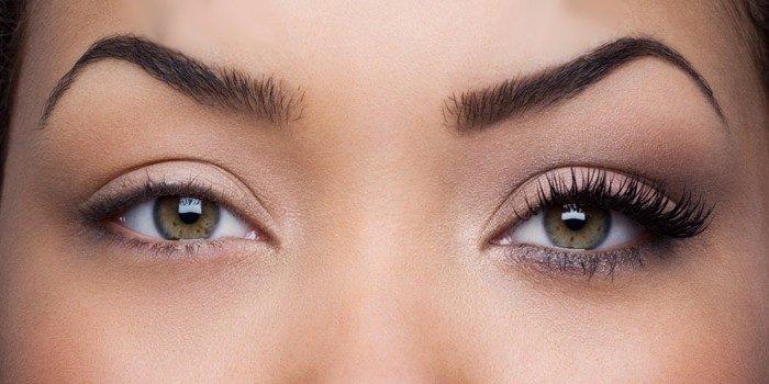 Коррекция формы глаз с помощью нарощенных ресниц