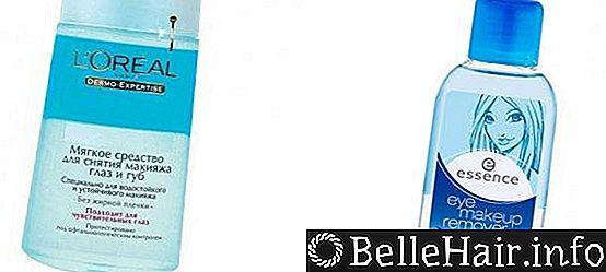 Жидкость для удаления водостойкой туши: как выбрать и чем заменить