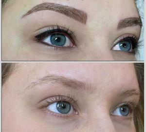 Волосковой метод коррекции бровей