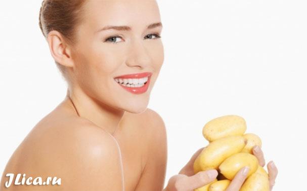 Рецепты домашних масок для лица из картофеля