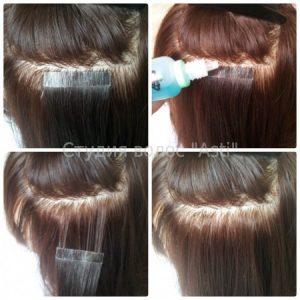 Нарощенные волосы уход за ними