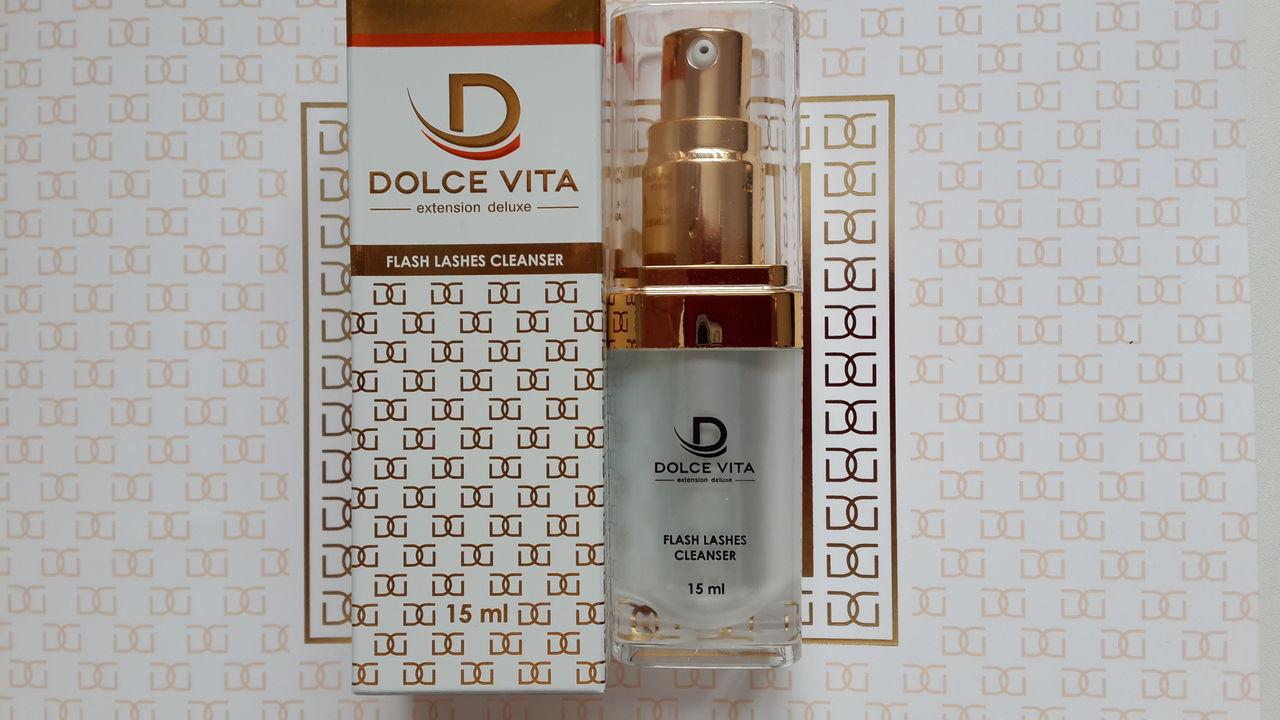 Cleanser Dolce Vita – один из первых появился в lash-индустрии и на данный момент удерживает свои лидерские позиции