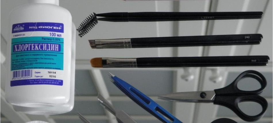 Что нужно для коррекции бровей