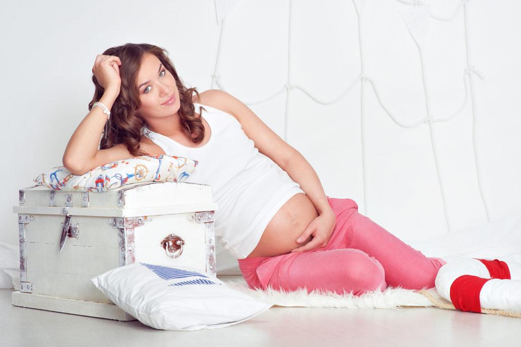 окрашивание бровей беременной