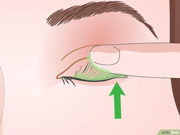 Изображение с названием Curl Your Eyelashes Without an Eyelash Curler Step 19
