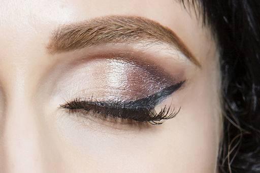 макияж тенями