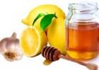 Медово-лимонная питательная маска