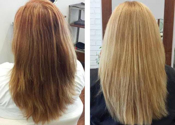 Маски для осветления волос — мягкое средство коррекции цвета