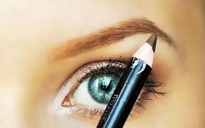 Как красить брови карандашом?