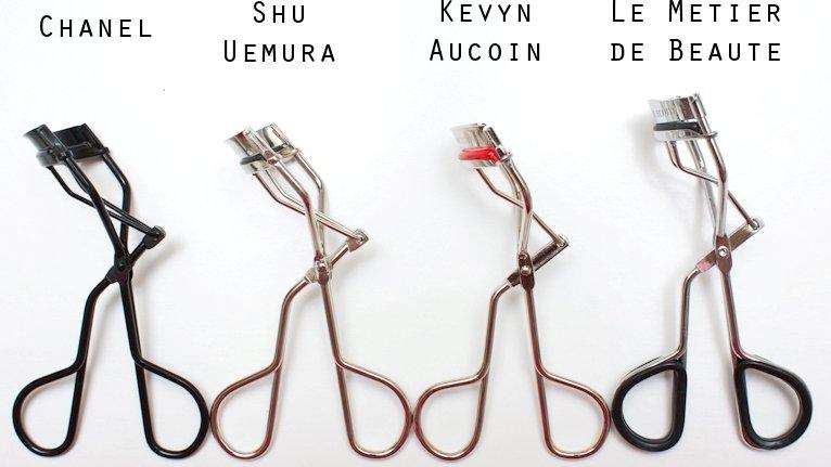 Сравнение наиболее популярных щипчиков для завивки ресниц (Chanel, Shu Uemura, Kevyn Aucoin, Le Metier de Beaute)