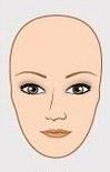 Брови для овальной формы лица