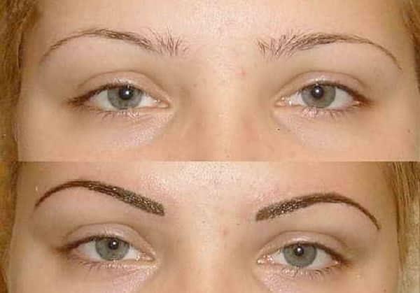 Фото до и после: шотирование сразу после сеанса